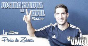 "Entrevista. Joseba Zaldua: ""No encuentro explicación a lo que pasa en defensa"""