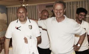Palermo, scatta il ritiro: parlano Zamparini e Tedino