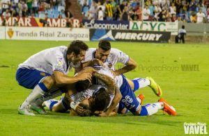 Festín goleador del Real Zaragoza