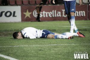 El Real Zaragoza B naufraga en Olot