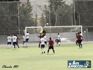 El Real Zaragoza B sucumbe ante el filial bermellón