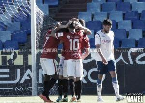 El Nàstic golea y manda a la UVI al Real Zaragoza B