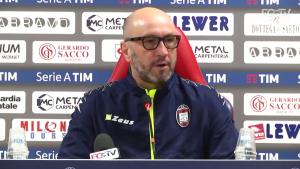 """Crotone - Zenga: """"Questa non è LA tappa, è una tappa. Non considero l'Udinese nella lotta salvezza"""""""