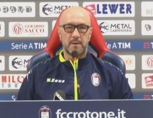 Crotone: la carica di Walter Zenga in vista dell'ultima partita della stagione