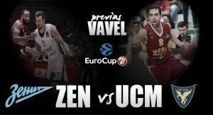 Zenit San Petersburgo - UCAM Murcia: Goliat contra el pequeño David