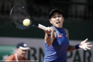 French Open: Zhang Shuai battles past tough opponent
