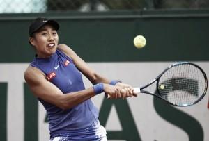 French Open: Zhang Shuai battles past Donna Vekic in marathon thriller