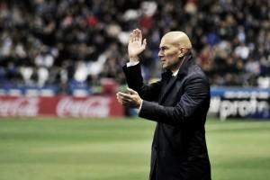 """Zidane elogia grupo e diz que não há time A ou B no Real Madrid: """"Estamos todos juntos"""""""
