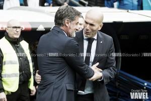 """Zidane valoriza vitória após partida fraca do Real Madrid: """"Tem que pensar nos três pontos"""""""