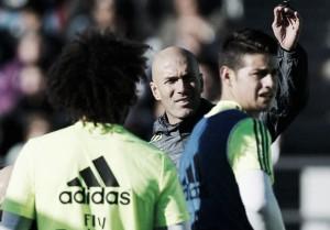 ¿Zidane pierde la paciencia con James Rodríguez?