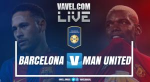 Resultado Barcelona x Manchester United na Champions Cup (1-0)