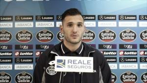 """Lucas Pérez: """"En Riazor el equipo siempre ha salido a ganar"""""""