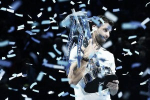 ATP World Tour Finals: Grigor Dimitrov downs David Goffin to win the biggest title of his career