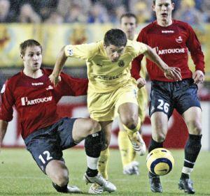 El Lille muestra al peor Villarreal
