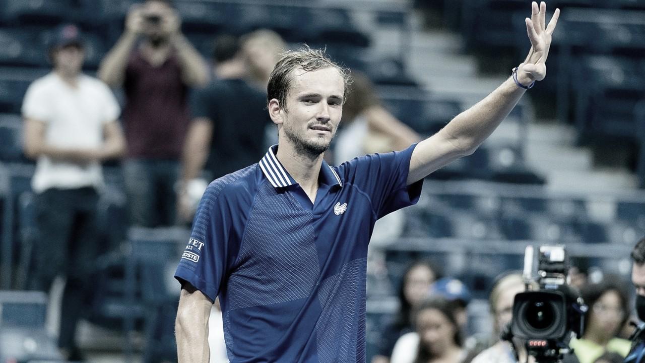 Medvedev confirma favoritismo, domina Gasquet e avança no US Open