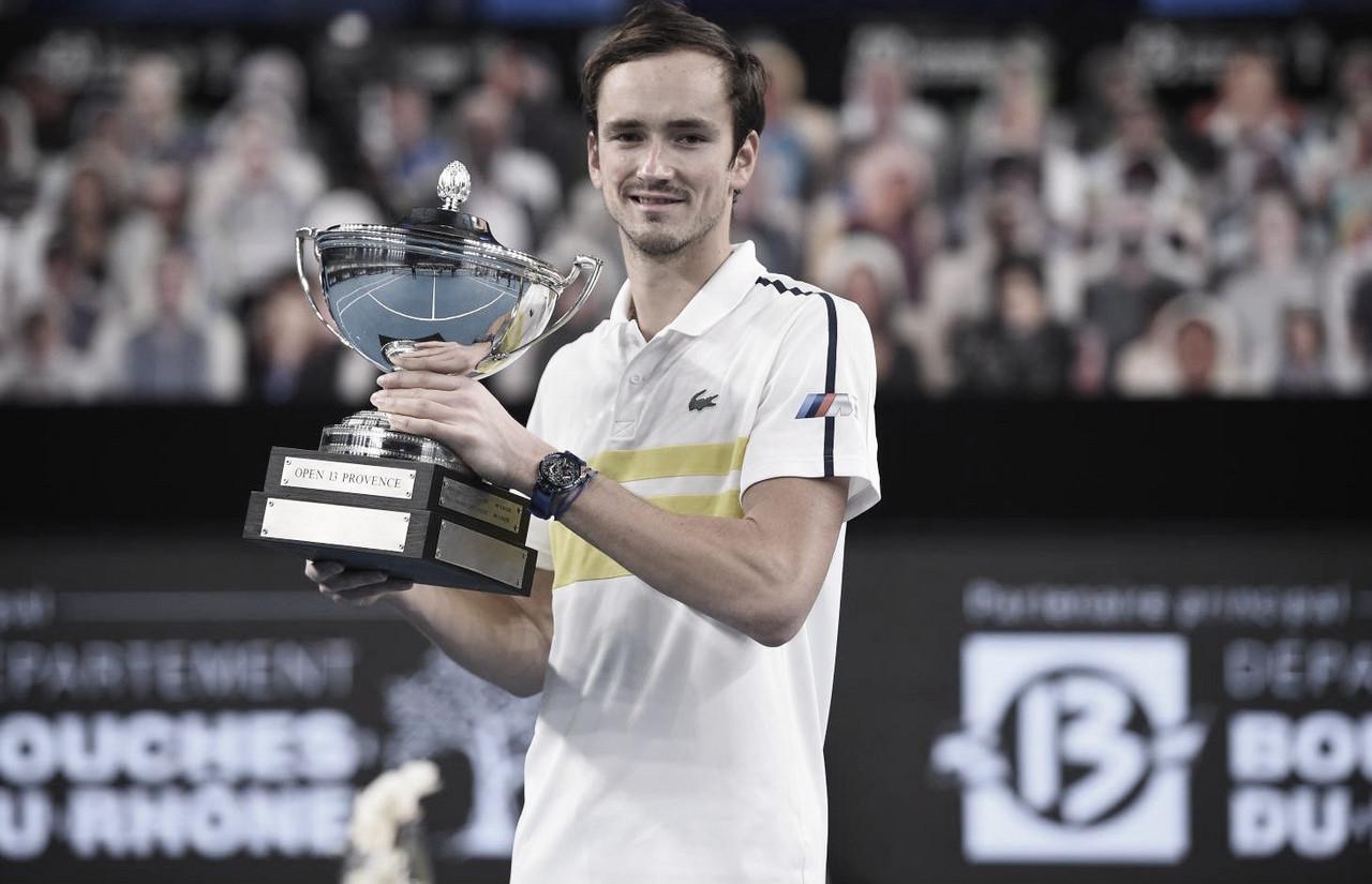 Medvedev supera jogo duro contra Herbert e vence ATP 250 de Marseille