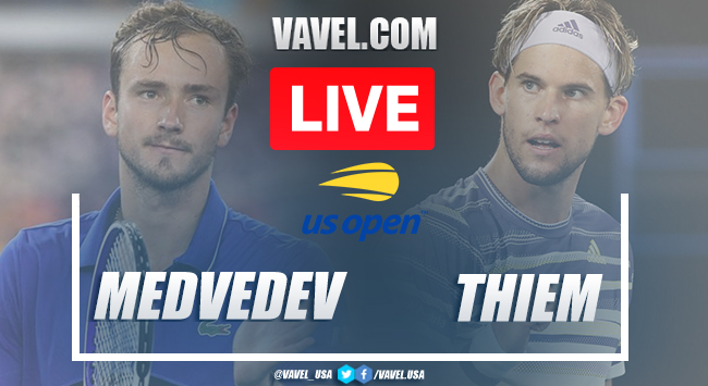 US Open: Daniil Medvedev vs Dominic Thiem Live Score and Stream