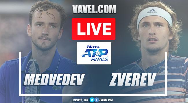 Medvedev vs Zverev Live Stream Updates and Score in Nitto ATP Finals London
