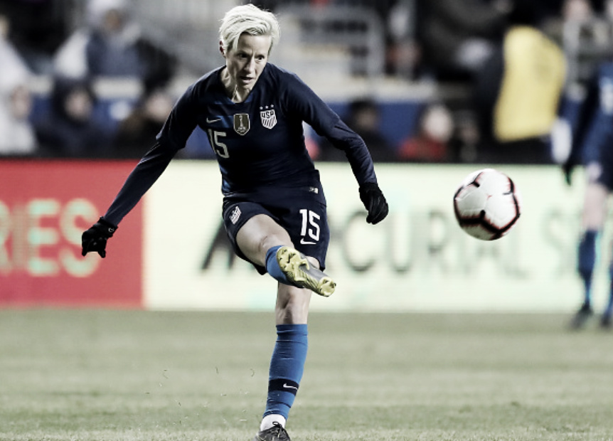 Result: USWNT 2 - 2 England in 2019 SheBelieves Cup
