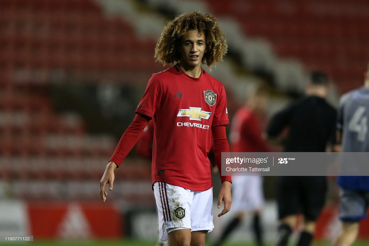 Manchester United youngster Hannibal Mejbri donates signed shirt to charity