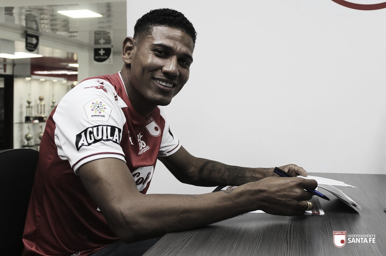 Alexander Mejía es nuevo jugador de Independiente Santa Fe