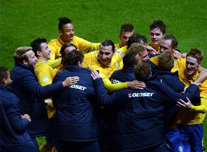 Suecia remonta contra pronóstico alemán