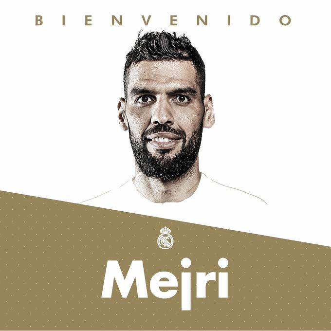 El Madrid hace oficial la vuelta de Salah Mejri