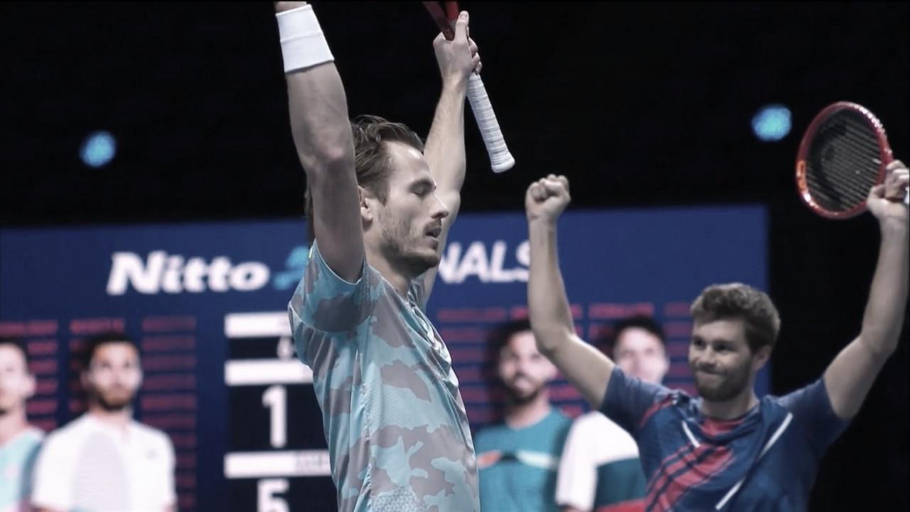 Koolhof/Mektic venceramGranollers/Zeballos no ATP Finals 2020 (ATP/Divulgação)