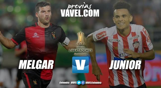 Previa FBC Melgar vs Junior de Barranquilla: duelo de necesitados en la Conmebol Libertadores
