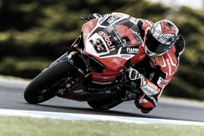 Melandri regresa a Superbikes con buenas sensaciones