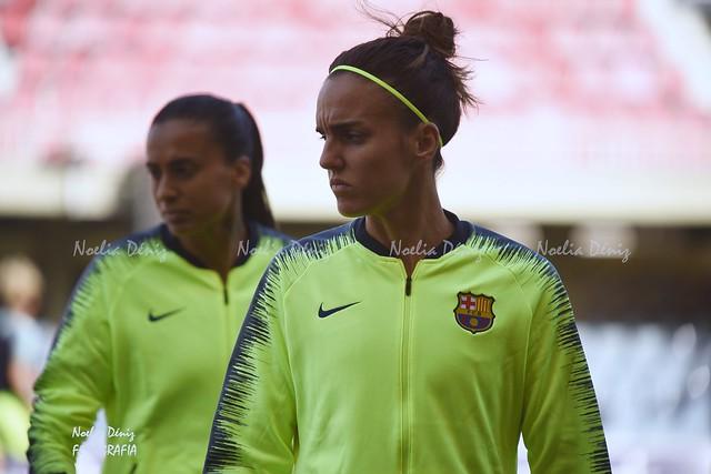 Melanie Serrano, historia viva del Barça