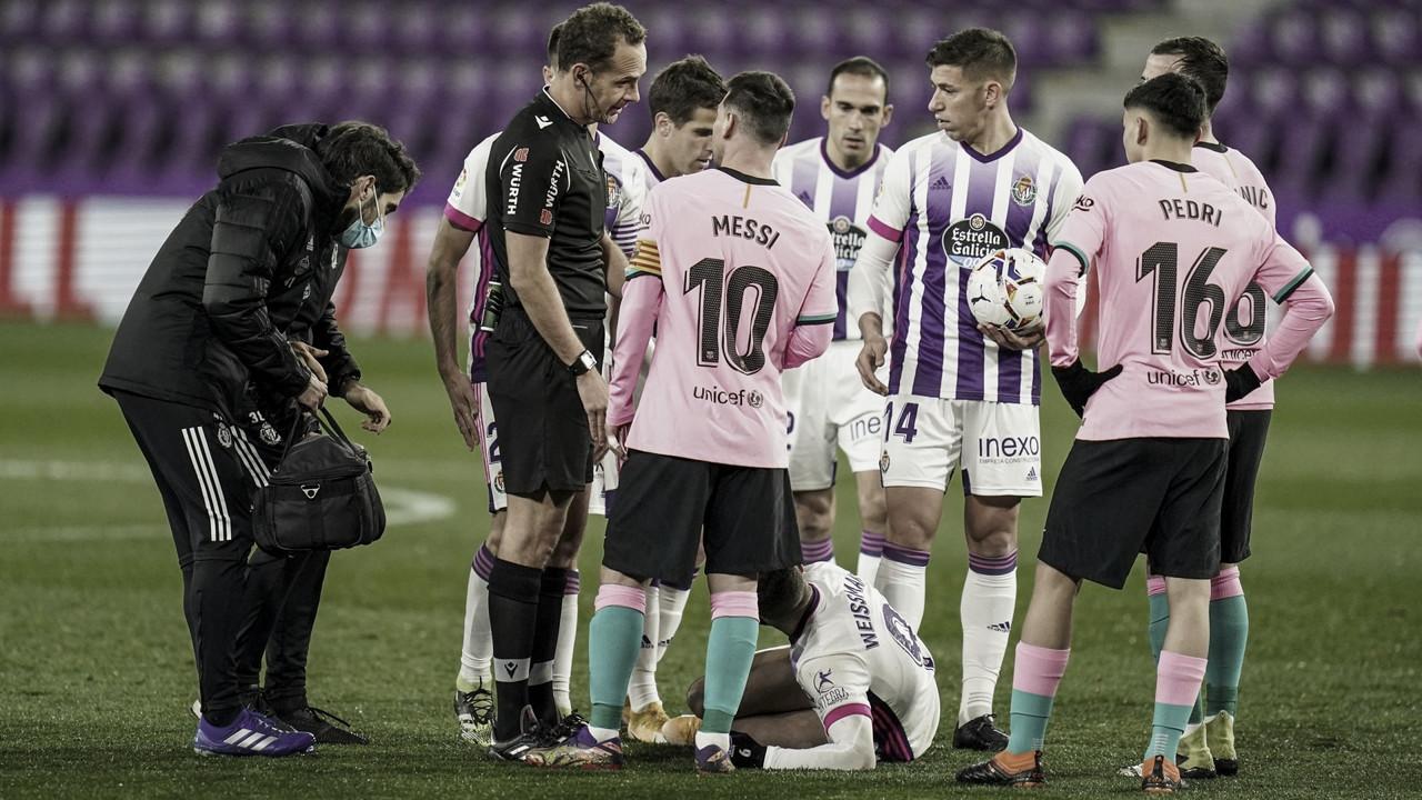 Melero López, árbitro contra el Getafe