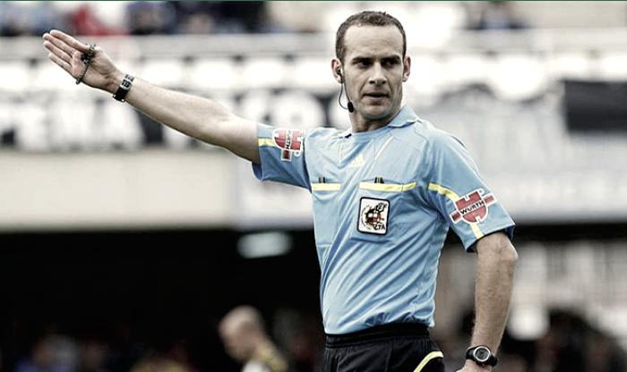 Melero López es el encargado de dirigir el Atlético vs Osasuna