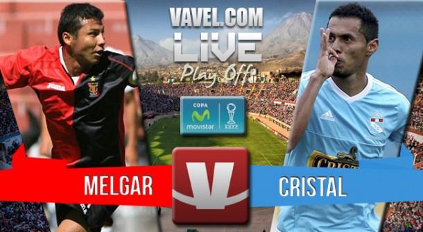 Resultado Melgar - Sporting Cristal en final del Torneo Descentralizado (3-2)