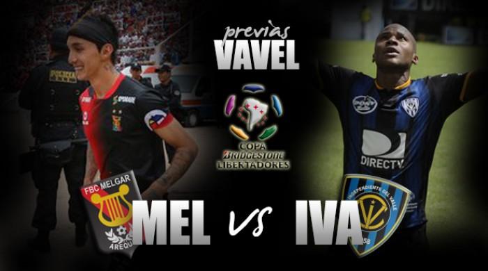 Melgar - Independiente del Valle: Sumar de a tres cuanto antes