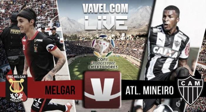 Resultado Melgar - Atlético Mineiro en Copa Libertadores 2016 (1-2)