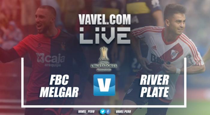 Resultado Melgar vs River Plate por Copa Libertadores 2017 (2-3)