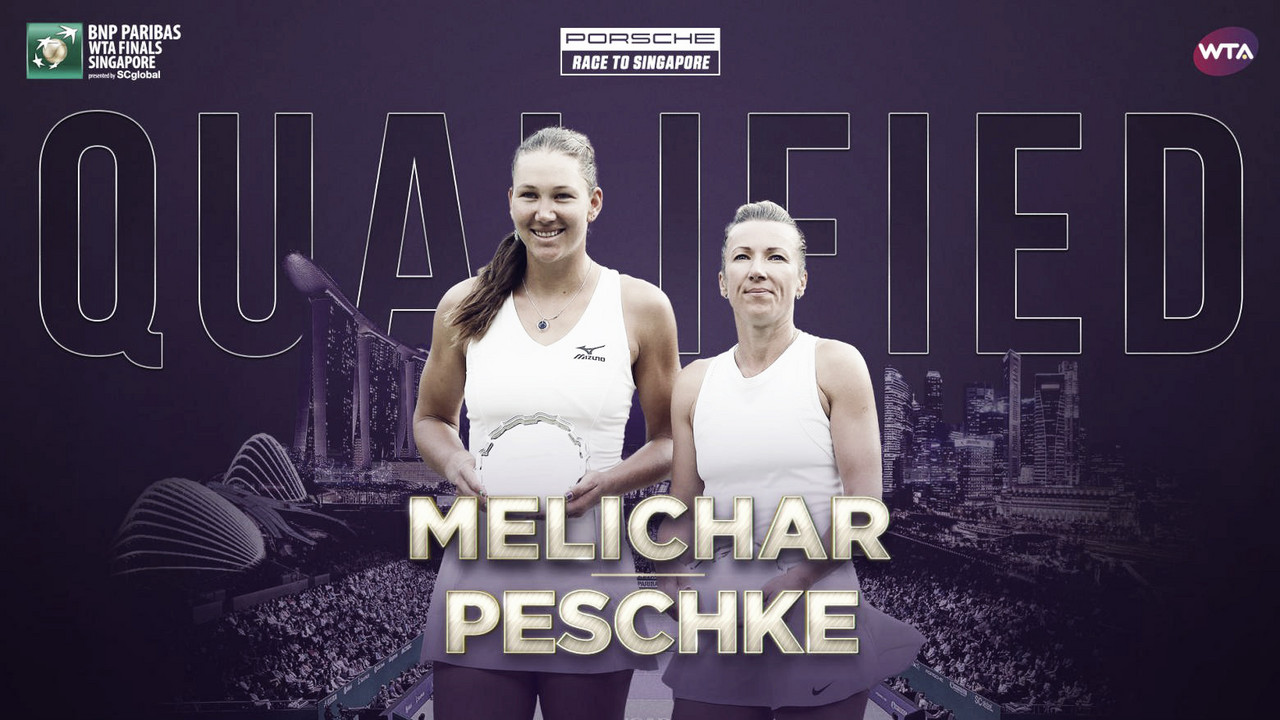 Nicole Melichar and Kveta Peschke qualify for WTA Finals