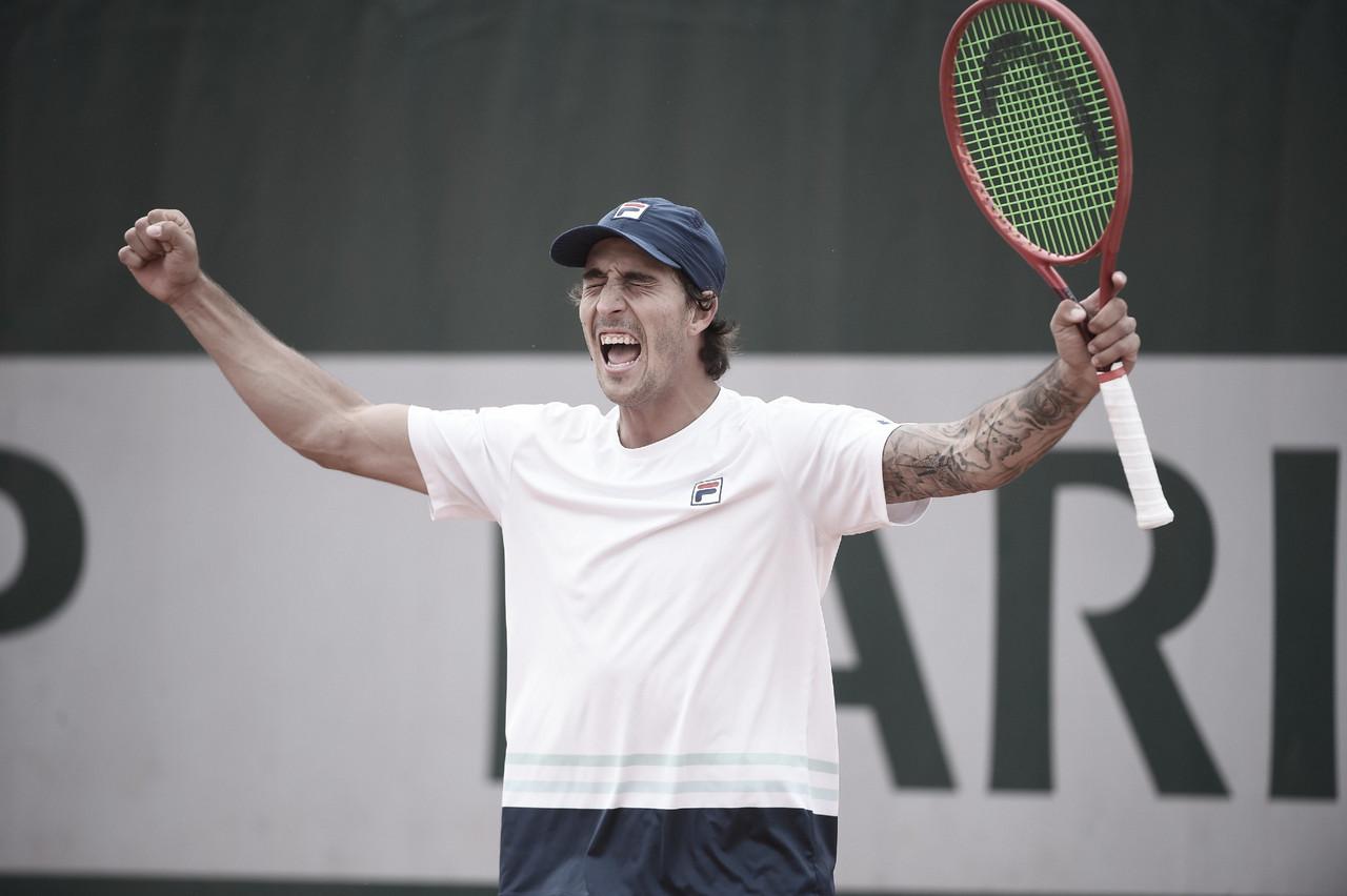 Meligeni Alves e Menezes vencem e seguem vivos no quali de Roland Garros