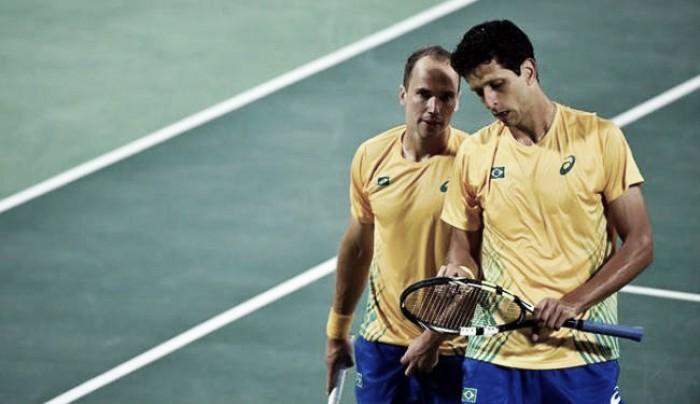 Favoritos ao ouro, Marcelo Melo e Bruno Soares são eliminados por romenos na Rio 2016