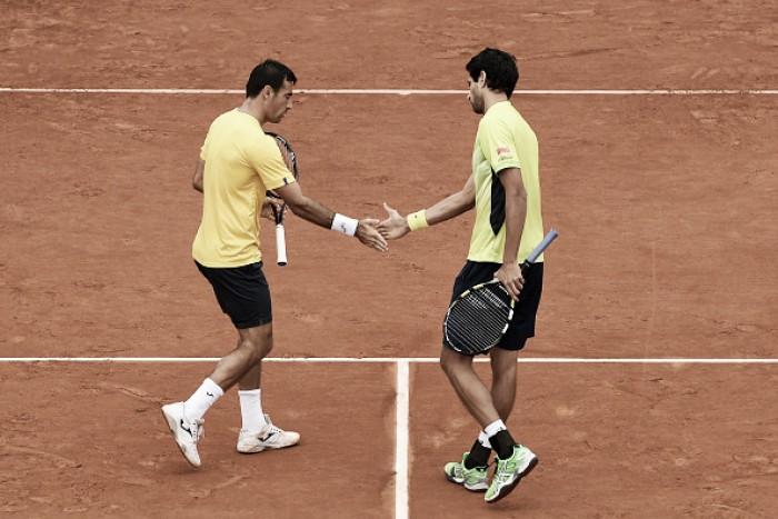 Atuais campeões, Melo e Dodig são eliminados por espanhóis na semifinal de Roland Garros