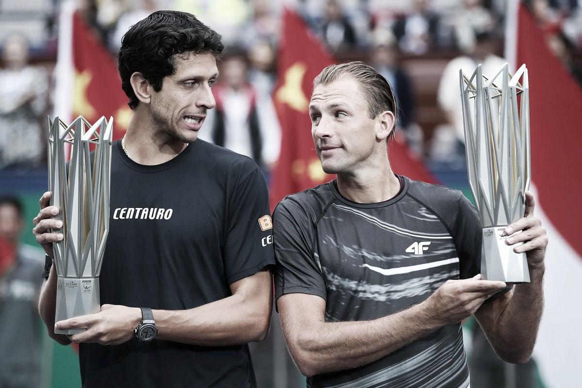 Em duelo entre brasileiros, Melo/Kubot batem Murray/Soares e conquistam Shanghai