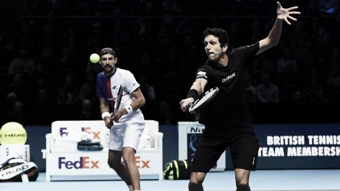 Melo e Kubot perdem para Kontinen/ Peers e são vice do ATP Finals