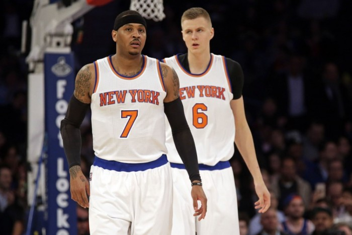 Knicks shrug off losses and trade rumors