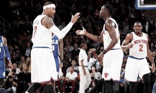 """Carmelo Anthony: """"Si sacas lo mejor de mi, sacas lo mejor de mis compañeros"""""""