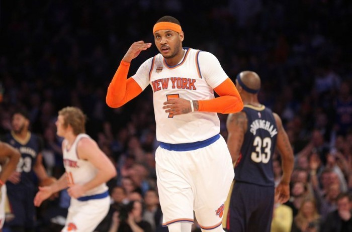 All Star Game - Carmelo Anthony rimpiazza l'infortunato Kevin Love