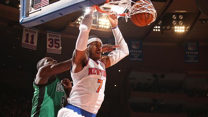 Knicks vence Celtics no Madson Square Garden e mantém tabu de oito vitórias no clássico