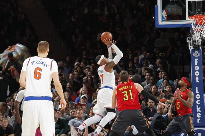 NBA - Prova di forza dei Knicks, battuti gli Hawks