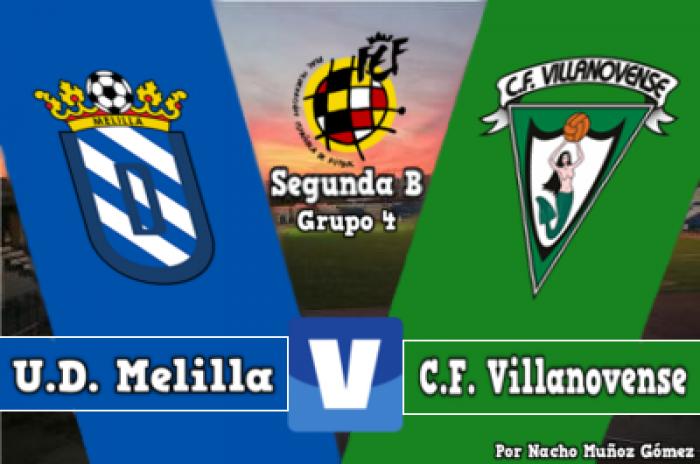Resultado Melilla - Villanovense en Segunda División B 2016 (4-1 ...