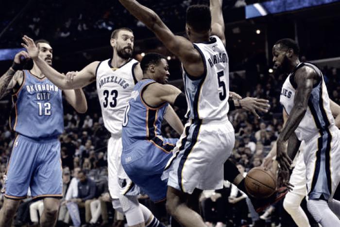 NBA - Memphis usa la criptonite con Westbrook: Oklahoma ko. Charlotte ok con Miami